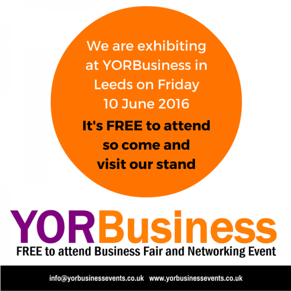Yorbusiness, Leeds, 10th June 2016
